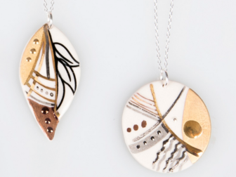 Kerry Richardson - Keramika Pendants II