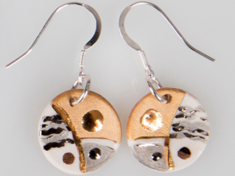 Kerry Richardson - Keramika Earrings II
