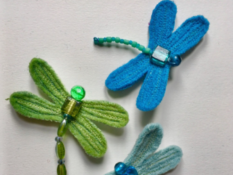 Jenny Nutbeem -Dragonfly Brooches