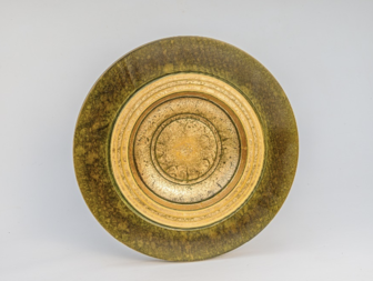 Dennis Hales - Gilded Wall Plate