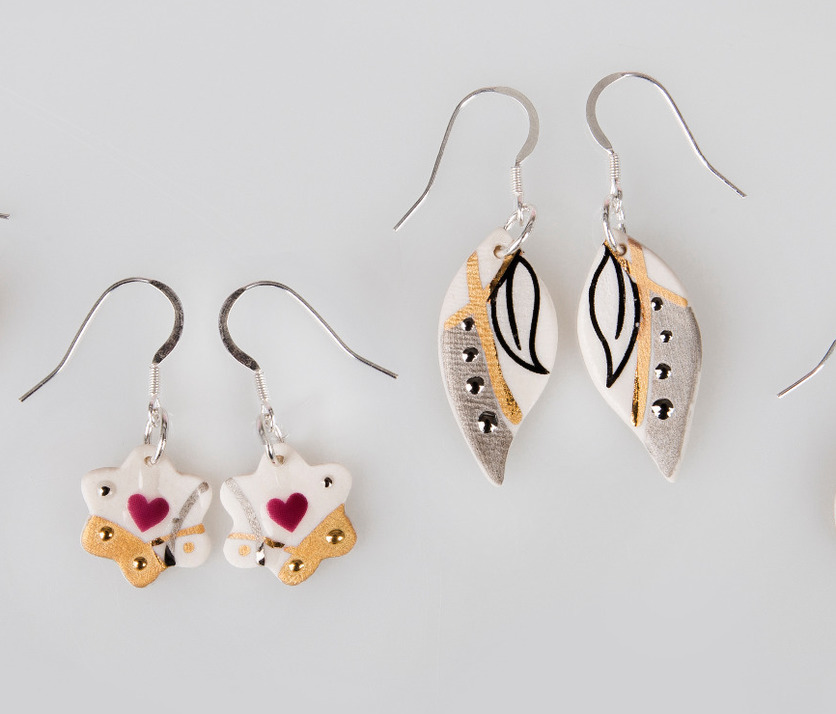 Kerry Richardson - Keramika Earrings I